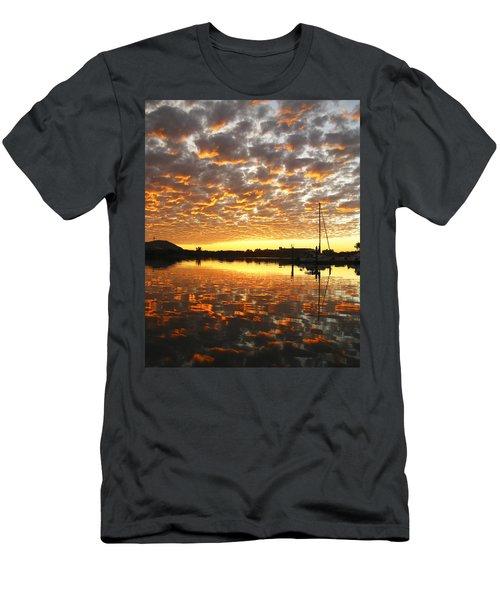 Spectacular Mazatlan Sunset Men's T-Shirt (Slim Fit) by Anne Mott