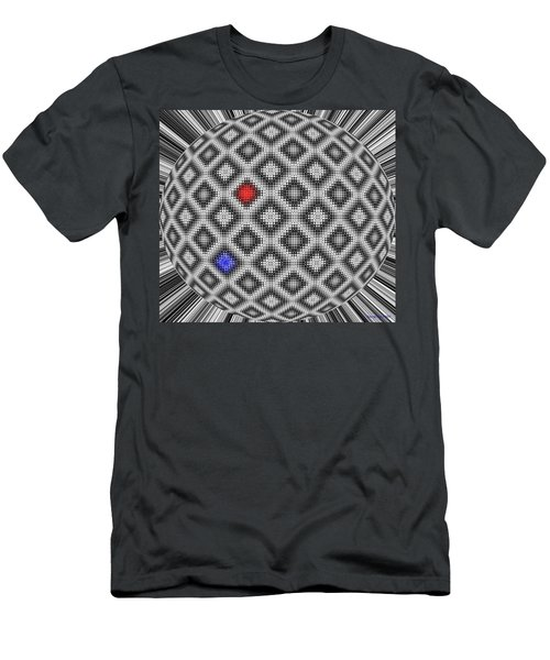 Men's T-Shirt (Slim Fit) featuring the digital art Sphere Number 10 by George Pedro