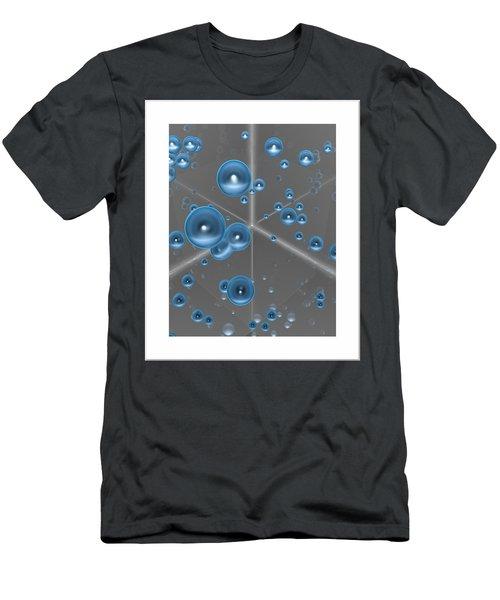 Men's T-Shirt (Slim Fit) featuring the digital art Spheres... by Tim Fillingim