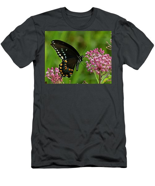 Spicebush Swallowtail Din039 Men's T-Shirt (Athletic Fit)