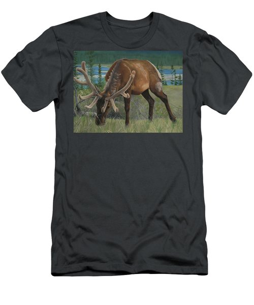 Men's T-Shirt (Athletic Fit) featuring the painting Spring Gazing by Tammy Taylor