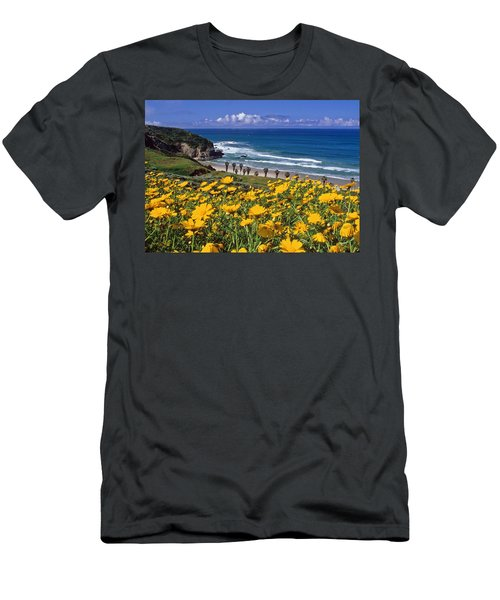 Springtime On The Headlands Men's T-Shirt (Athletic Fit)