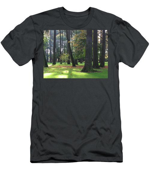 St. John's Trees Men's T-Shirt (Athletic Fit)