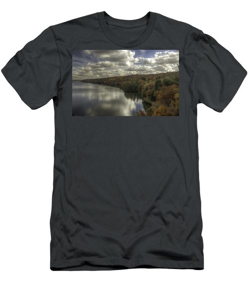 Starved Rock Fall Colors Men's T-Shirt (Athletic Fit)