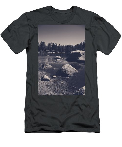 Step By Step Men's T-Shirt (Athletic Fit)
