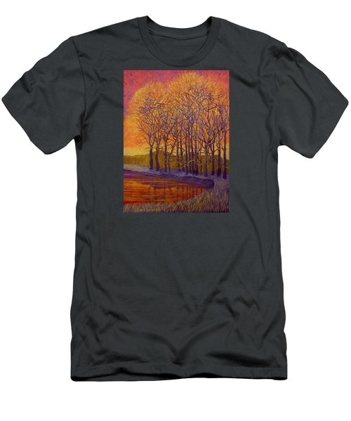 Still Waters Men's T-Shirt (Slim Fit) by Jeanette Jarmon