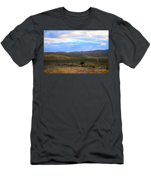 Stormy Wyoming Sunrise I Men's T-Shirt (Athletic Fit)