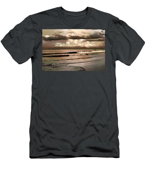 Summer Afternoon At The Beach Men's T-Shirt (Athletic Fit)