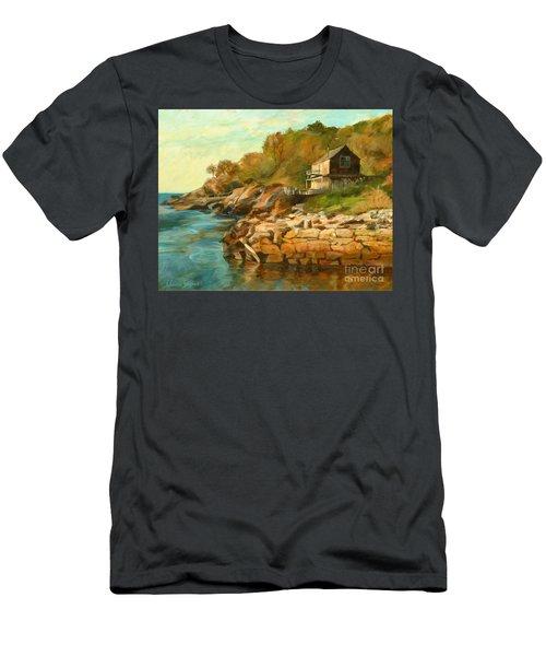 Summer Cottage Men's T-Shirt (Athletic Fit)
