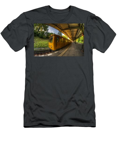 Summer Eveing Train. Men's T-Shirt (Athletic Fit)