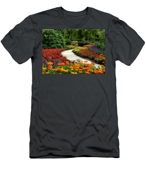 Summer In Cantigny 1 Men's T-Shirt (Athletic Fit)