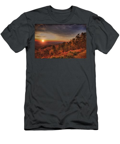Sunrise 2-talimena Scenic Drive Arkansas Men's T-Shirt (Athletic Fit)