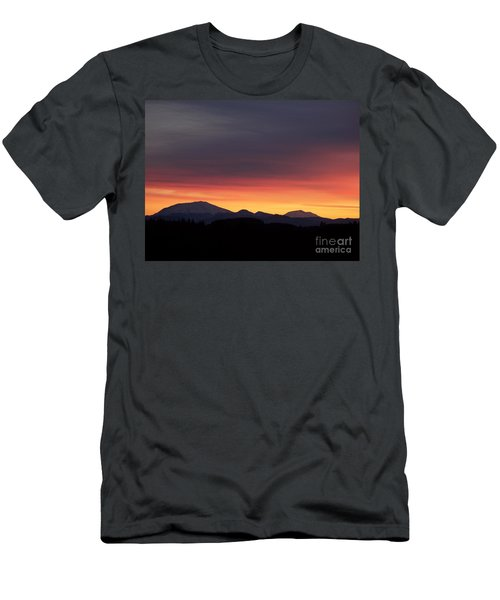 Men's T-Shirt (Slim Fit) featuring the photograph Sunrise 3 by Chalet Roome-Rigdon