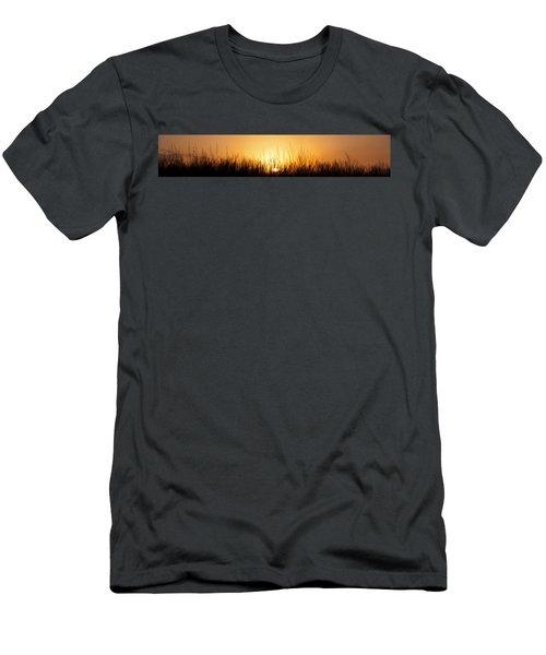 Sunrise Over Nachusa Grasslands Men's T-Shirt (Athletic Fit)