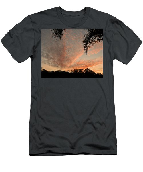Sunset In Lace Men's T-Shirt (Athletic Fit)