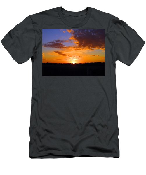 Sunset In Wayne County Men's T-Shirt (Athletic Fit)