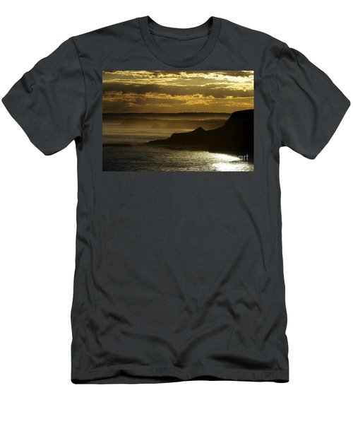 Sunset Mist Men's T-Shirt (Athletic Fit)