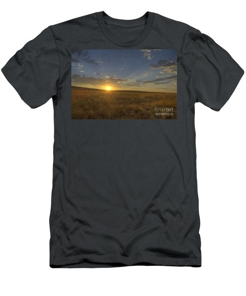 Sunset On The Prairie Men's T-Shirt (Athletic Fit)
