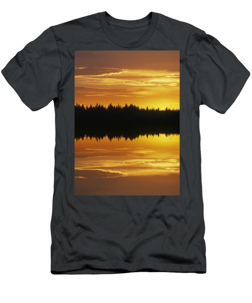Sunset Over Boreal Forest, Medicine Men's T-Shirt (Athletic Fit)