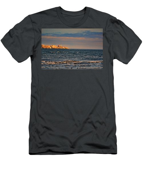 Sunset Over British Columbia Men's T-Shirt (Athletic Fit)