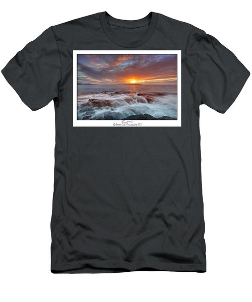 Sunset Tides - Cemlyn Men's T-Shirt (Athletic Fit)
