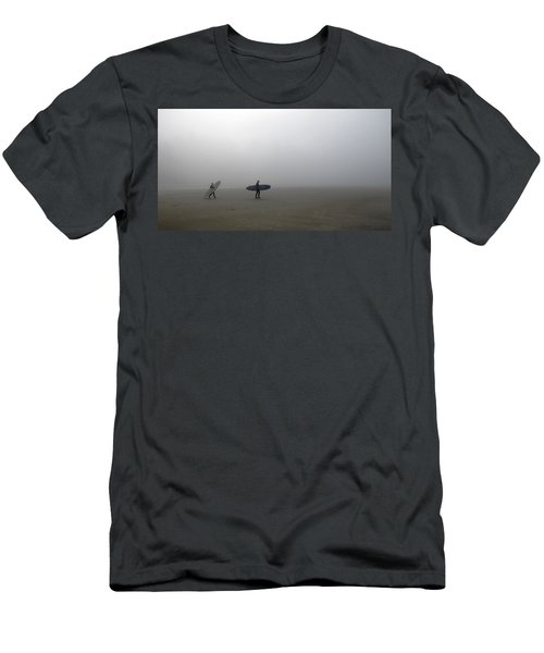 Surfing Into The Abyss Men's T-Shirt (Athletic Fit)