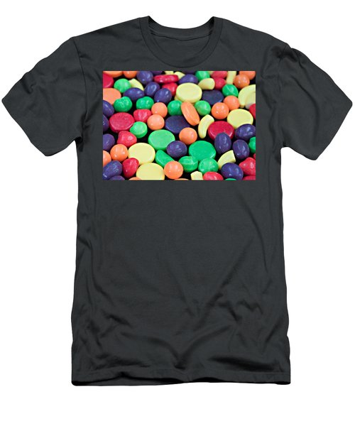 Men's T-Shirt (Slim Fit) featuring the photograph Sweet Candy Galore  by Sherry Hallemeier