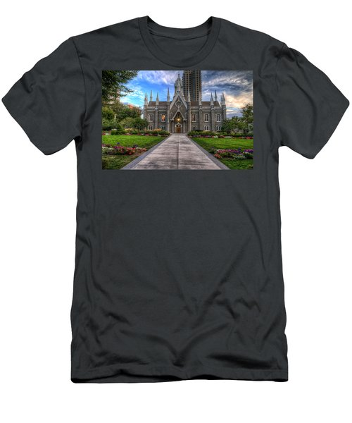 Temple Square Assembly Hall Men's T-Shirt (Athletic Fit)