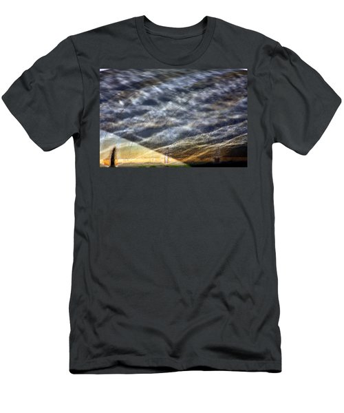 Men's T-Shirt (Athletic Fit) featuring the photograph Thames Reflections by KG Thienemann