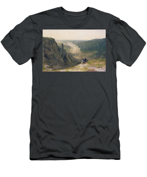 The Avon Gorge - Looking Over Clifton Men's T-Shirt (Athletic Fit)