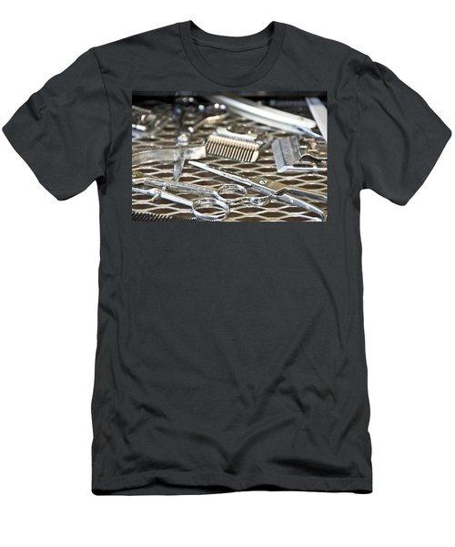 The Barber Shop 10 Men's T-Shirt (Athletic Fit)