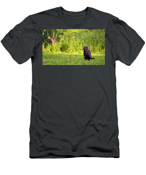 The Deer Hunter Men's T-Shirt (Athletic Fit)