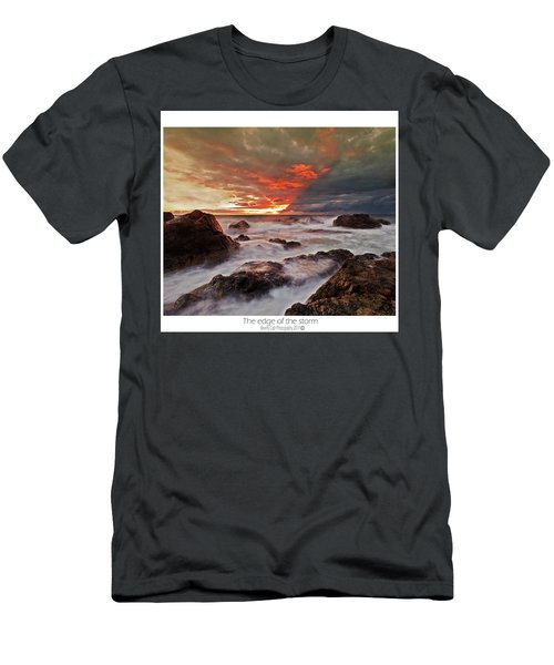 The Edge Of The Storm Men's T-Shirt (Athletic Fit)