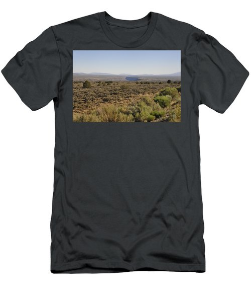 Men's T-Shirt (Athletic Fit) featuring the photograph The Gorge On The Mesa by Ron Cline