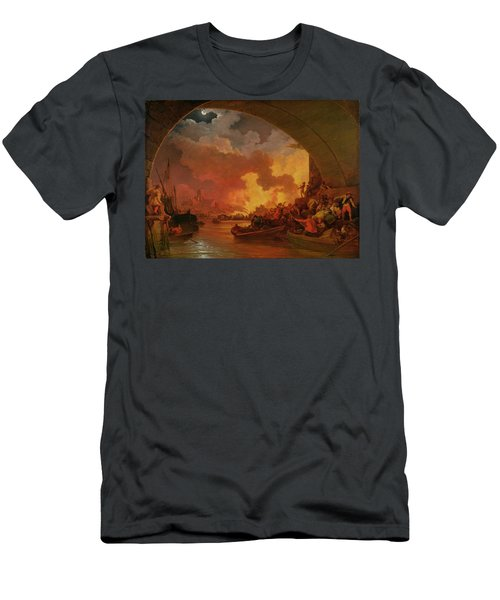 The Great Fire Of London Men's T-Shirt (Athletic Fit)
