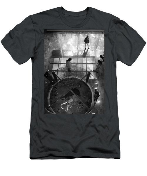 Men's T-Shirt (Slim Fit) featuring the photograph The Oculus by Lynn Palmer