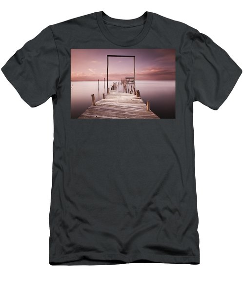 The Passage To Brightness Men's T-Shirt (Athletic Fit)