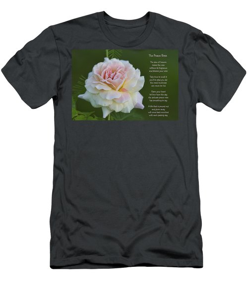 The Peace Rose Men's T-Shirt (Athletic Fit)
