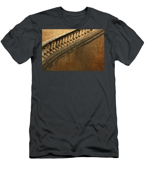 Men's T-Shirt (Athletic Fit) featuring the photograph The Queen's Staircase by KG Thienemann