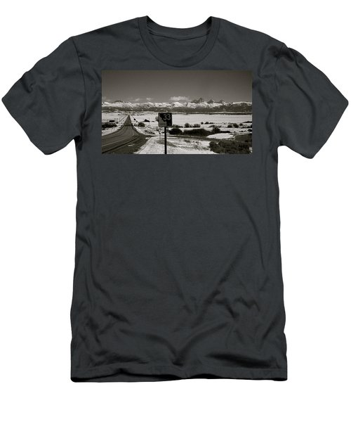 Men's T-Shirt (Slim Fit) featuring the photograph The Road Home by Eric Tressler