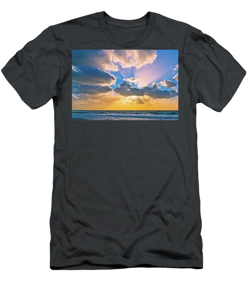 The Sea In The Sunset Men's T-Shirt (Athletic Fit)