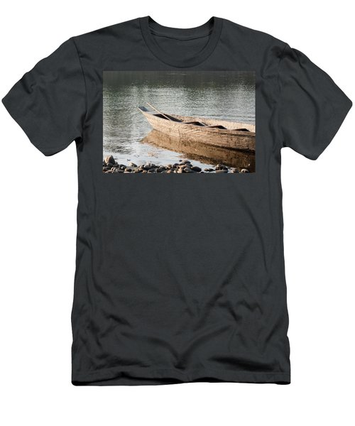 Men's T-Shirt (Slim Fit) featuring the photograph The Wait by Fotosas Photography