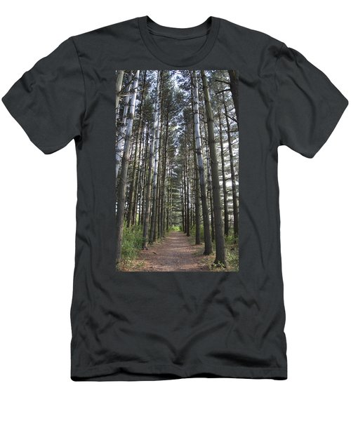 Through The Woods Men's T-Shirt (Slim Fit) by Jeannette Hunt
