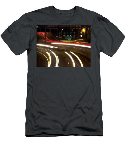 Time Lapse Men's T-Shirt (Athletic Fit)
