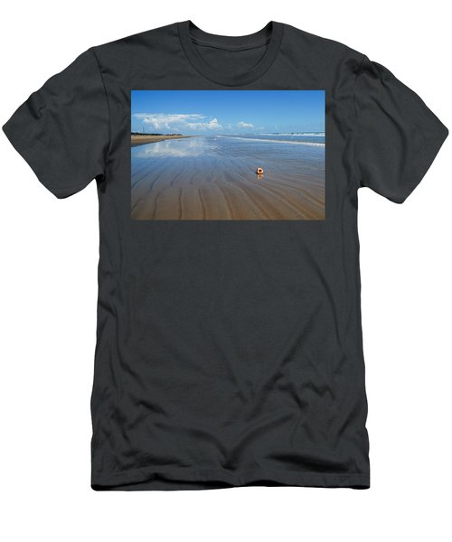 Tranquility Men's T-Shirt (Slim Fit) by Fotosas Photography