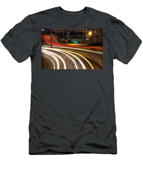Traveling In Time Men's T-Shirt (Athletic Fit)