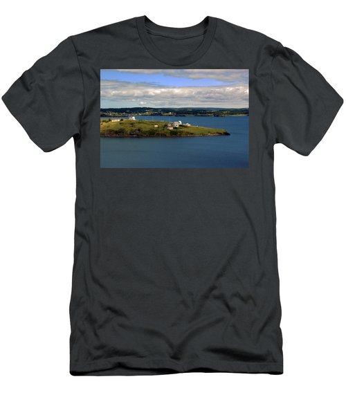 Trinity Bay Men's T-Shirt (Slim Fit) by Leanna Lomanski