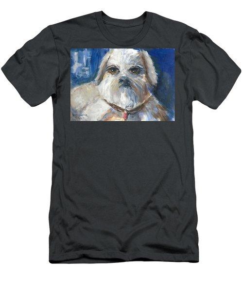 Trouble Men's T-Shirt (Slim Fit) by Bernadette Krupa