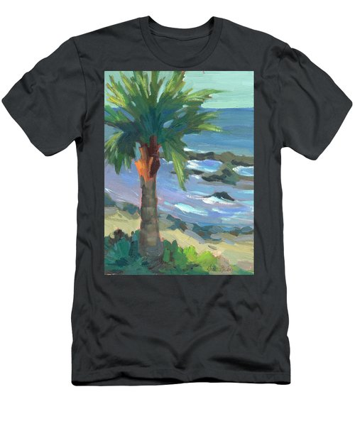 Turquoise Water Men's T-Shirt (Athletic Fit)