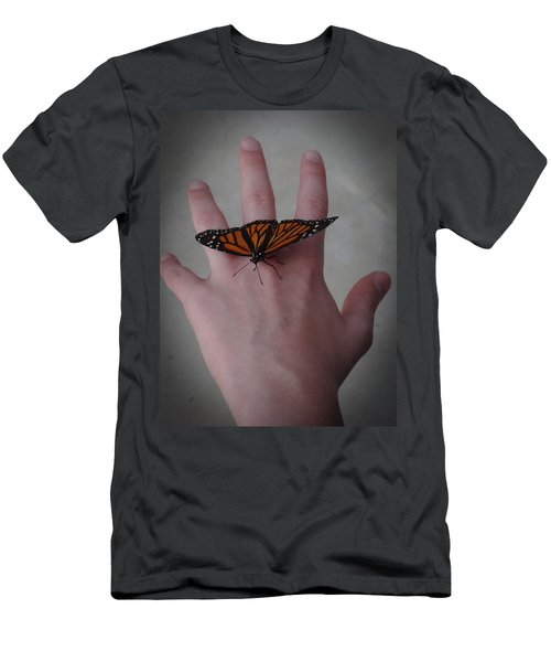 Upon My Hand Men's T-Shirt (Slim Fit) by Julia Wilcox